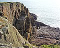 Cliffs just to the north of Portavaddie - geograph.org.uk - 1409264.jpg