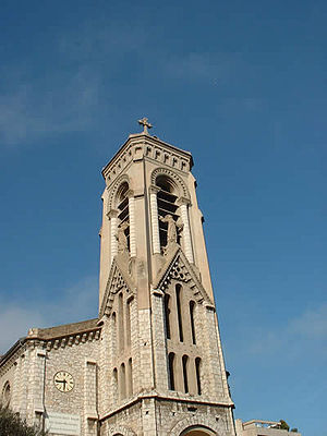 Beausoleil, Alpes-Maritimes - St. Joseph Church's tower