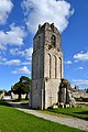 Clocher de l'ancienne église Saint-Pierre de Longues-sur-Mer (Fontenailles) 2.jpg