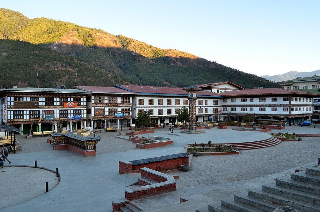 Clock Tower Square Thimphu 2010-12-19