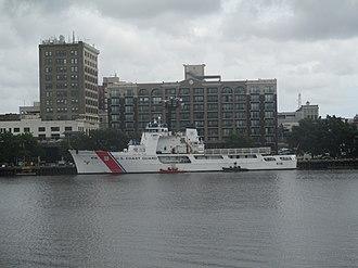 Cape Fear River - Image: Coast Guard vessel on the Cape Fear River IMG 4356