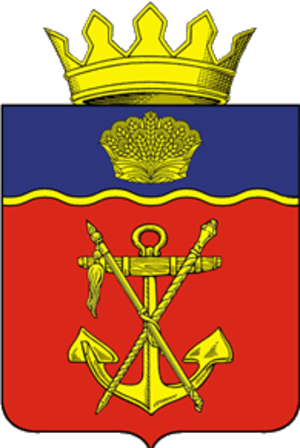 Kalachyovsky District - Image: Coat of arms of Kalachyovsky district 2007 01 (official)