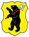 Coat of arms of Yaroslavl Oblast (only escutcheon) 03.png