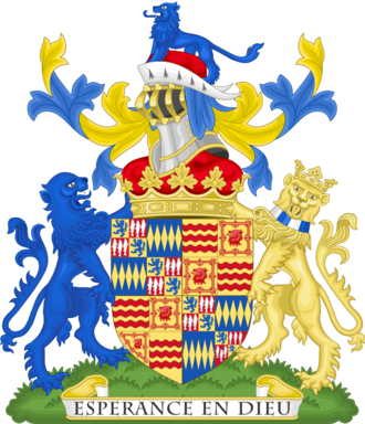 Duke of Northumberland - Image: Coat of arms of the duke of Northumberland