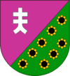 Coat of arms of Apostolove