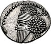 Coin of Osroes I (cropped), Ecbatana mint.jpg