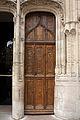Collégiale de Montmorency-Vantail d'une porte du porche nord-20120918.jpg