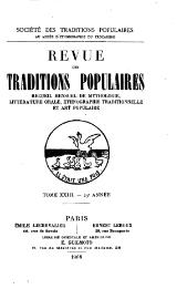 Collectif - Revue traditions populaires, 1886.djvu