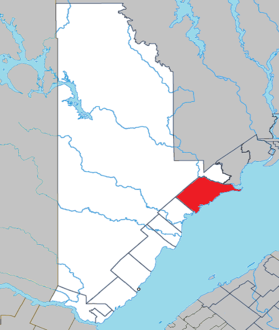 Colombier Quebec location diagram.png