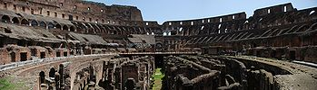 Colosseum Iinterior Panorama From Level 1.jpg
