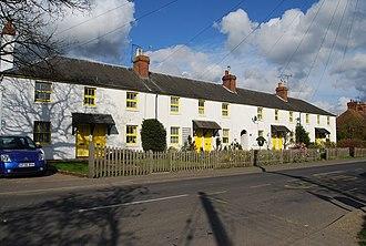 Chiddingstone Causeway - Image: Colourful cottages, Chiddingstone Causeway geograph.org.uk 1262880