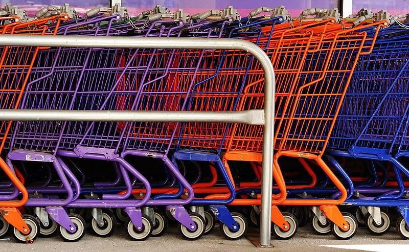 Wózki na zakupy