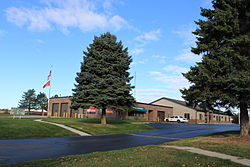 Columbia Township Michigan Township Offices.JPG