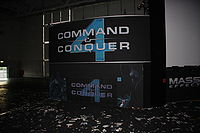 Command & Conquer 4- Tiberian Twilight presentation room at gamescom 2009-outside PNr°0266.JPG