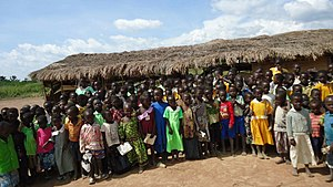 Education in Uganda - Community school at Kolir (Bukedea District)