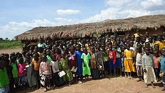 Education in Uganda - Community school at Kolir (Bukedea District)
