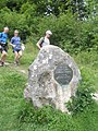 Competitors on the Wessex 100 reach The Poet's Stone - geograph.org.uk - 1324432.jpg