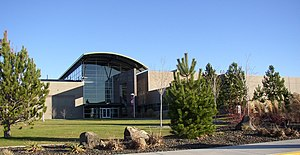 Washington State University Tri-Cities - Consolidated Information Center (CIC), operated jointly by PNNL and WSU, on the WSU Tri-Cities campus in Richland.
