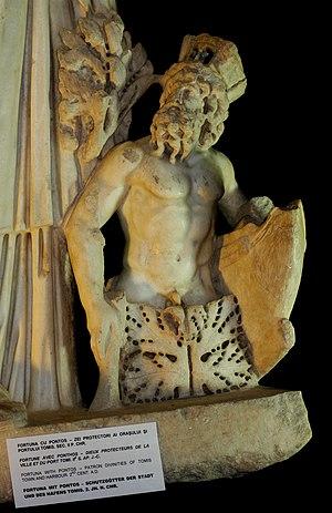 Pontus (mythology) - Depiction of Pontos Constanta Museum