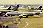 Continental DC-10 N10366 at LGW (32133020336).jpg