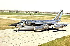 43d Airlift Wing - Image: Convair B 58 Hustler USAF