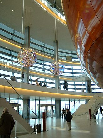 Copenhagen Opera House - The foyer