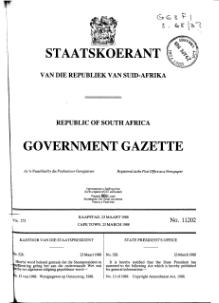Copyright Amendment Act 1988 from Government Gazette.djvu
