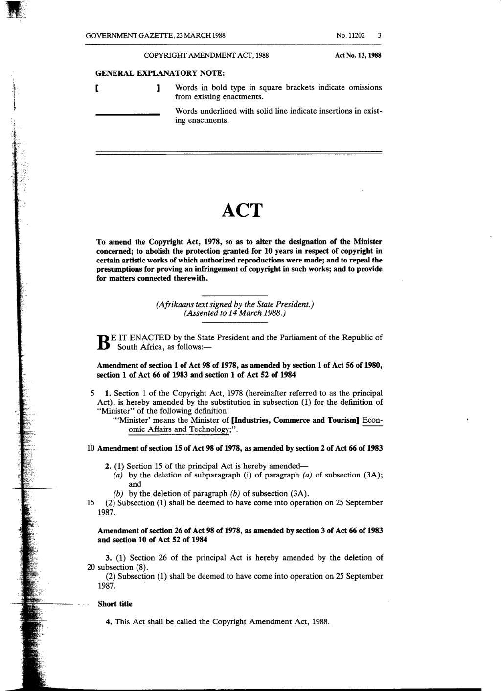 page:copyright amendment act 1988 from government gazette.djvu/2
