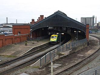 Dublin–Cork railway line - Image: Cork Station 2