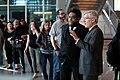 Cornel West & Robert P. George with attendees (39036482105).jpg