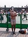 Cosplayer of Kyosuke Shikijo, Hentai Kamen at Comic Market 84 20130810.jpg