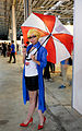 Cosplayer of RGN News Forecast Janna, League of Legends at 2015FFTC 20150801.jpg