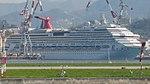 Costa Pacifica and Carnival Splendor Under Construction (recropping Carnival Splendor).jpg