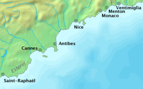 Image illustrative de l'article Route du bord de mer (Alpes-Maritimes)