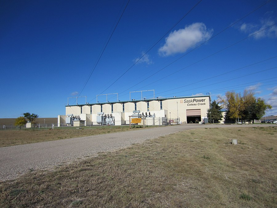 Coteau Creek Hydroelectric Station
