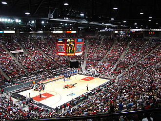 San Diego State Aztecs men's basketball - Aztecs inside Viejas Arena