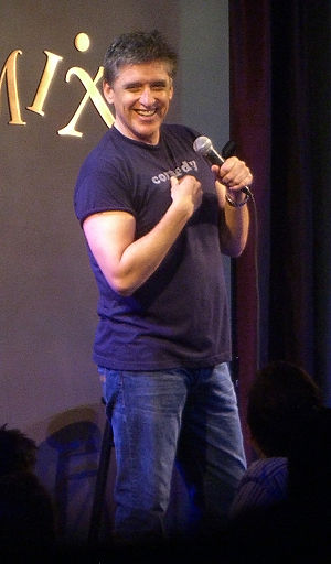 Craig Ferguson - Performing stand-up in New York City, 2007.
