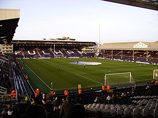 football stadium in Fulham, London