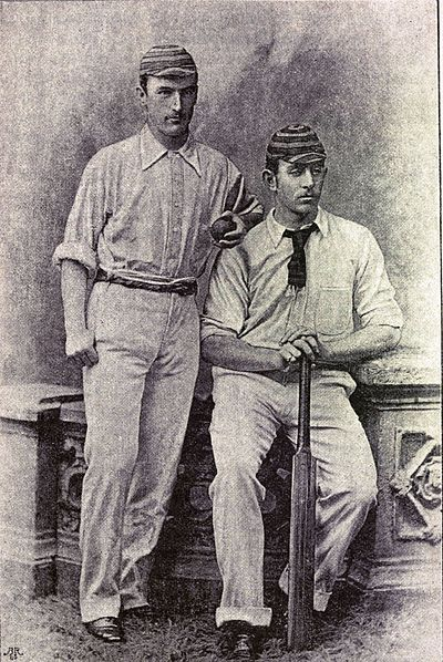 Cricket, WG Grace, 1891- J.J.Ferris and C.T.B.Turner.jpg