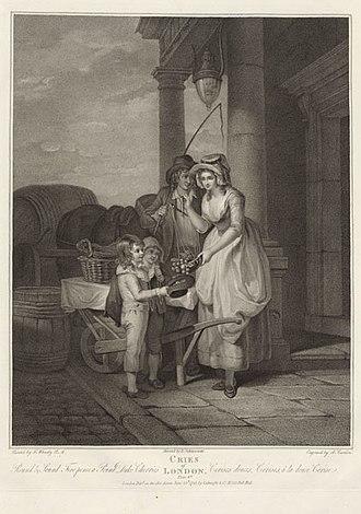 Anthony Cardon - Image: Cries of london plate 8 by CARDON, ANTHONY (ANTOINE) GMII
