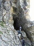 Cript Lake Trail Tunnel, Waterton Lakes NP - panoramio.jpg