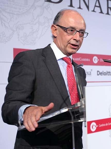 Cristóbal Montoro, Coordinador dEconomia del Partit Popular, als Dinars Cambra, 17 doctubre de 2011 (2)