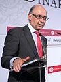 Cristóbal Montoro, Coordinador dEconomia del Partit Popular, als Dinars Cambra, 17 doctubre de 2011 (2).jpg