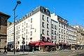 Croisement de l'avenue Jean Jaurès et de la rue Pierre Gigard à Paris le 5 avril 2016.jpg