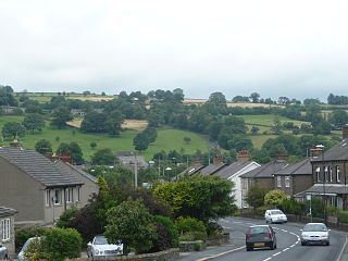 Cross Hills Village in North Yorkshire, England