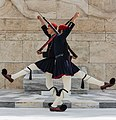 Crossing Evzones Tomb Unknown Soldier Athens-2.jpg