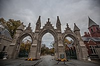 Crown Hill Cemetery Gateway Arches.jpg