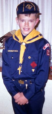 An American Cub in uniform, 1968 Cub Scout, 1968.jpg