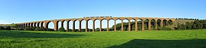 Highland Main Line - Image: Culloden Viaduct 01 2007 08 22