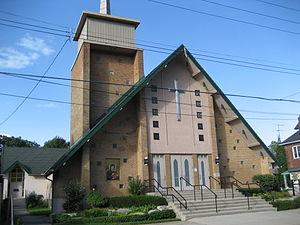 Sherman Avenue (Hamilton, Ontario) - Cumberland Christian Assembly Church